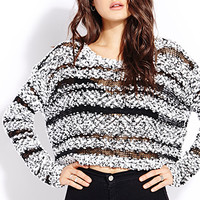 Retro Moment Cropped Sweater