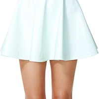 Nasty Gal High Shine Skirt