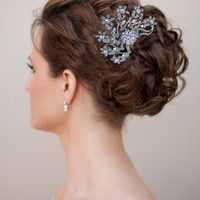 Vintage Rhinestone Hair Comb ~ Esmerelda - Hair Comes the Bride Bridal Hair Accessories & Headpieces, Wedding Jewelry, Hair & Makeup