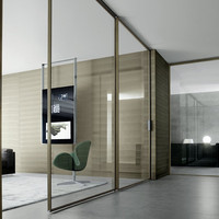 Rimadesio - Spin | Contemporary Swing Door from Rimadesio | Haute Living