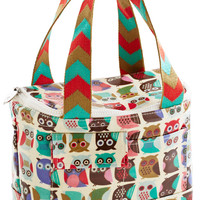 If You Can't Stand the Hoot Lunch Bag | Mod Retro Vintage Kitchen | ModCloth.com