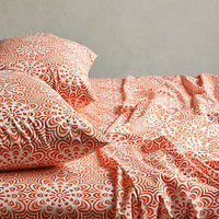 Geo Flora Sheet Set by Anthropologie