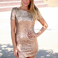 MAKE YOU MINE DRESS , DRESSES, TOPS, BOTTOMS, JACKETS & JUMPERS, ACCESSORIES, 50% OFF SALE, PRE ORDER, NEW ARRIVALS, PLAYSUIT, COLOUR, GIFT VOUCHER,,Sequin,Gold,BODYCON,SHORT SLEEVE Australia, Queensland, Brisbane