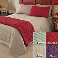 3 Pc Quilted Bed Set @ Fresh Finds
