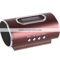 Rechargeable Stereo Speaker w/ FM Radio Micro SD/ USB Slots & LCD for PC MP3 MP4 Player Battery Included [4584] - US$17.34 - China Electronics Wholesale - FlyDolphin.com