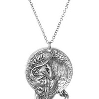 Alphonse Mucha Poetry Necklace - PLASTICLAND