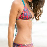 The Girl and The Water - Mary Grace Swim - Gypsy Reversible Top / Casey Jones - $106