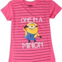Despicable Me Girls One in a Minion T-Shirt