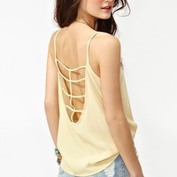 Caged Back Tank in What's New at Nasty Gal