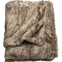 Faux Fur Throw - from H&M