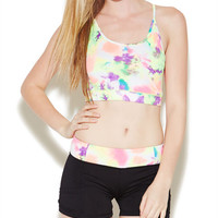 Tie Dye Sports Bra | Wet Seal