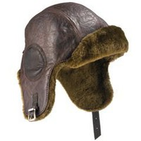 The Flying Fortress Aviator's Hat - Hammacher Schlemmer