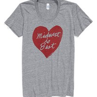 Megan Lee Designs State Graphic Slim Fit Tee (Women) | Nordstrom