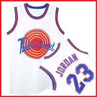 Tune Squad Space Jam Movie Jersey White Michael Jordan 23
