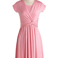 Take It to Art Dress in Pink