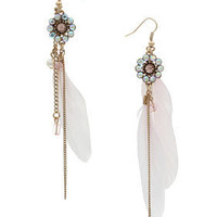 Feather Chain From Stone Wheel - Jewellery  - Accessories  - Topshop