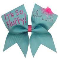 It's So Fluffy Cheer Bow