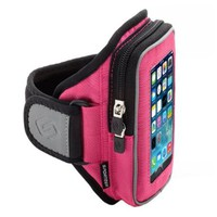 Sporteer Sport Armband for iPhones and Smartphones with Otterbox/Lifeproof Case - Size S/M (Black)