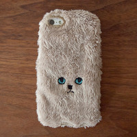 Cat iPhone Cover for iPhone5 / 5c / 5s - Gold