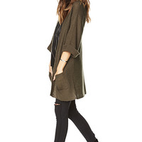 Toasty Open-Front Cardigan