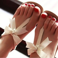 3235u Bowknot is flat sandals from Eternal