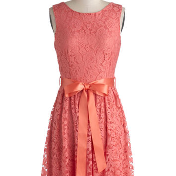 ModCloth Mid-length Sleeveless A-line Lovely as Lychee Dress