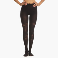 Women's Shredded Tights (Black)