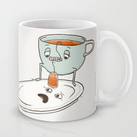 Tea Baggin' Mug by Phil Jones