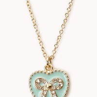 Sweetheart Bow Necklace