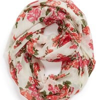 Capelli of New York 'All Over Flora' Infinity Scarf (Juniors) | Nordstrom