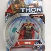 THOR Lightning Bolt Hammer Action Figure The Dark World MOC Never On Store Shelf