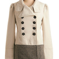 Playful Pleasantries Coat | Mod Retro Vintage Coats | ModCloth.com