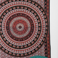 Magical Thinking Black Elephant Tapestry - Urban Outfitters