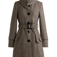 Dusk Flurries Coat | Mod Retro Vintage Coats | ModCloth.com