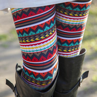 Cherokee Chevron Leggings