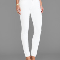 Paige Denim Verdugo Ultra Skinny in Optic White