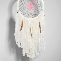 Spoke Woven White Dreamcatcher - Urban Outfitters