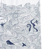 Deep Sea Odyssey Shower Curtain - PLASTICLAND