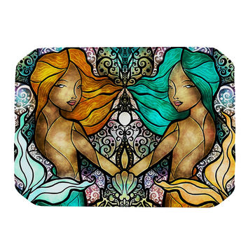 "Mandie Manzano ""Mermaid Twins"" Place Mat"