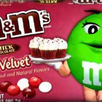 Red Velvet M&Ms 9.9oz bag