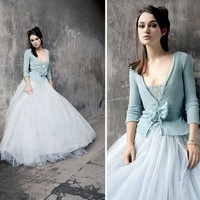 Preparing for Romantic Wedding: Romantic for Blue Wedding Dress