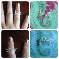 Knuckle ring customized