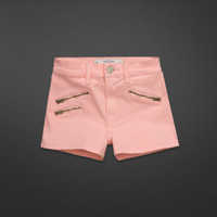 A&F Super High Rise Shorts