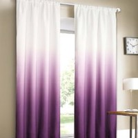 Dainty Home Shades 2-Window Panel Rod Pocket Set, 40 by 84-Inch, Burgundy