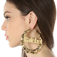 The Melody Ehsani x Miss KL Exclusive Ratchet Earrings in Gold