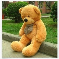 "Quality 47"" Giant Huge Cuddly Teddy Bear Toy Doll Soft Plush Stuffed Animal Xmas"