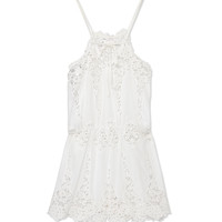 Miguelina Cicely Romper - Lace Romper - ShopBAZAAR