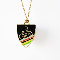 Bike Pendant Necklace | Little Paper Planes