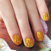 Wrap Transfer Paper Glitter DIY Nail Art Foil Sticker