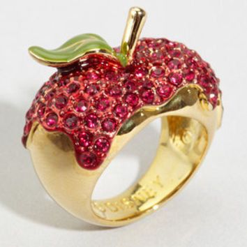 "fredflare.com | 877-798-2807 | Disney Couture ""one bite"" apple ring"